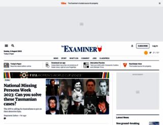 examiner.com.au screenshot