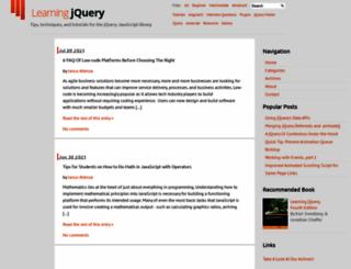 examples.learningjquery.com screenshot