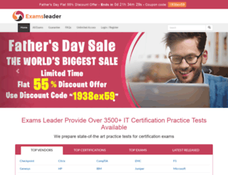 examsleader.com screenshot