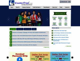 examstrial.com screenshot