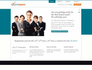 examtoppers.com screenshot