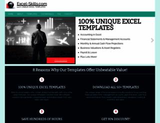 excel-skills.com screenshot