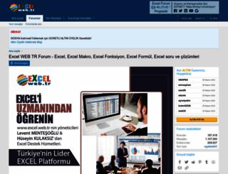 excel.web.tr screenshot