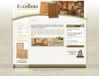 excelbois.ca screenshot