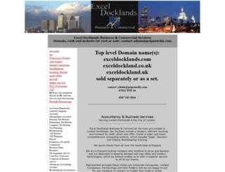 exceldocklands.com screenshot