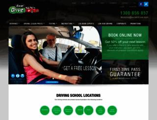 exceldrive.com screenshot
