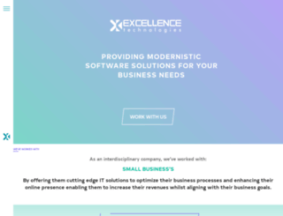 excellencetechnologies.in screenshot