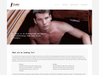 excelsiormodels.com screenshot