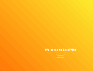 excelvite.com screenshot