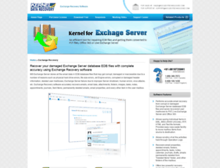 exchange.freedatarecoverysoftware.org screenshot