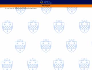 exchange.pitt.edu screenshot