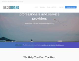 excoboard.com screenshot