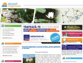 excursiiorganizate.ro screenshot