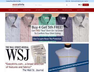 execshirts.com screenshot