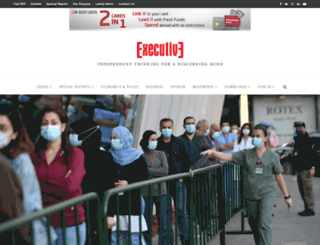 executive-magazine.com screenshot