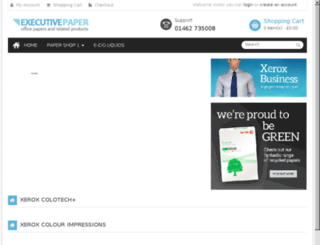 executivepaper.co.uk screenshot