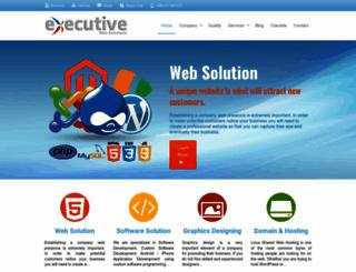 executivewebs.com screenshot