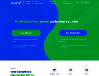 exekuta.com.br screenshot