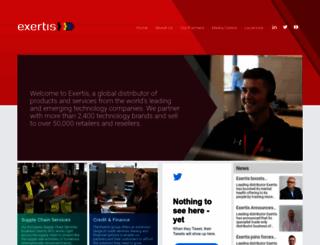 exertis.com screenshot