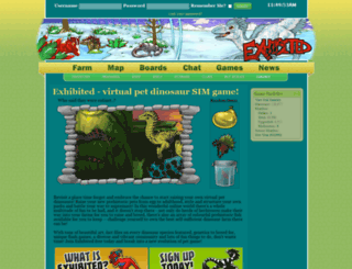 exhibited-sim.com screenshot