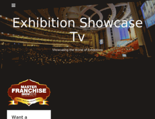 exhibitionshowcase.tv screenshot