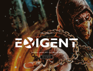 exigent3d.com screenshot