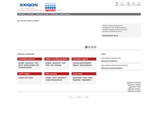 exiqon.com screenshot