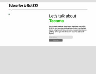 exit133.com screenshot
