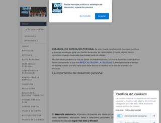 exitoydesarrollopersonal.com screenshot