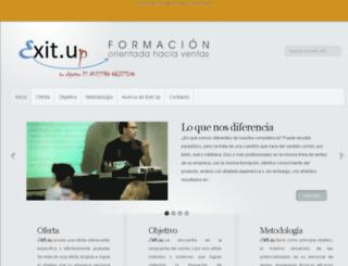 exitup.es screenshot