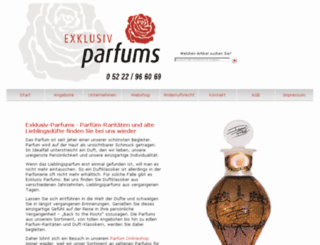 exklusiv-parfums.de screenshot