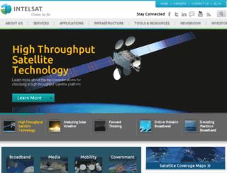 exnetapps.intelsat.com screenshot
