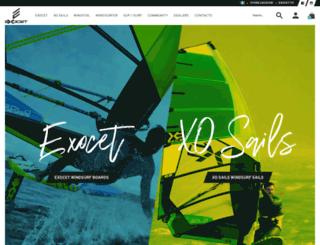 exocet-original.com screenshot
