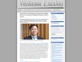 exodusforvietnam.wordpress.com screenshot