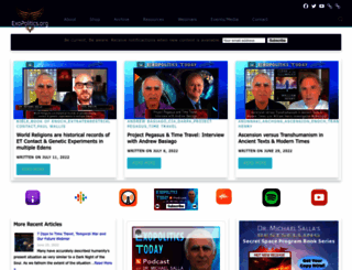 exopolitics.org screenshot