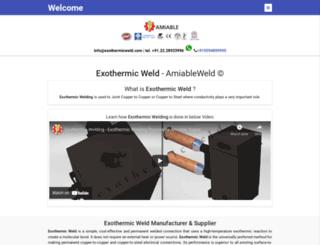 exothermicweld.com screenshot