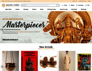 exoticindia.com screenshot