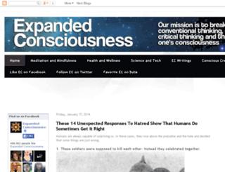 expanded--consciousness.blogspot.com.br screenshot