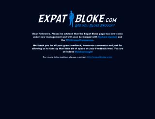 expatbloke.com screenshot