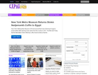 expatcairo.com screenshot