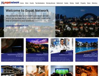 expatnetwork.com screenshot