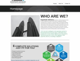 expatriateadvisory.com screenshot