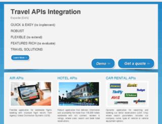 expediaapiintegration.com screenshot