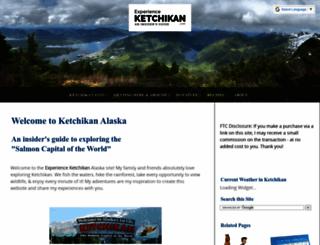 experienceketchikan.com screenshot