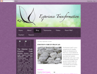 experiencetransformation.blogspot.com screenshot
