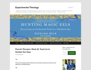 experimentaltheology.blogspot.com.au screenshot