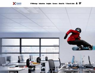 experis.com screenshot