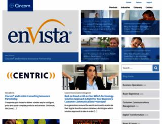 expertaccess.cincom.com screenshot