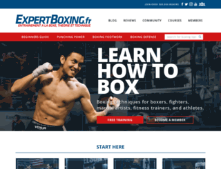 expertboxing.fr screenshot