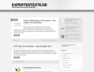 expertentexte.de screenshot